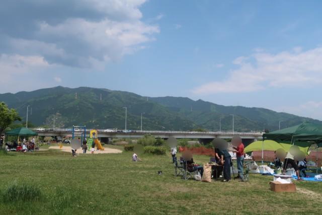 重信川樋口公園の雰囲気
