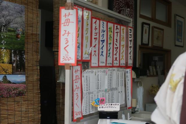 門田商店(かどみせ)のアイスの種類(メニュー)