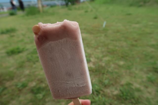 門田商店(かどみせ)のアイス(あずき味)