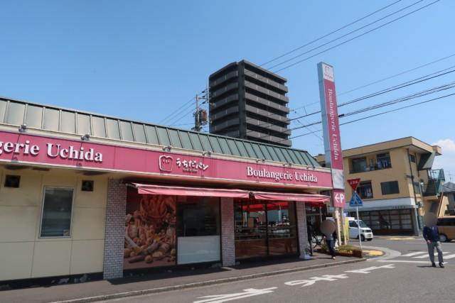 内田パンの外観