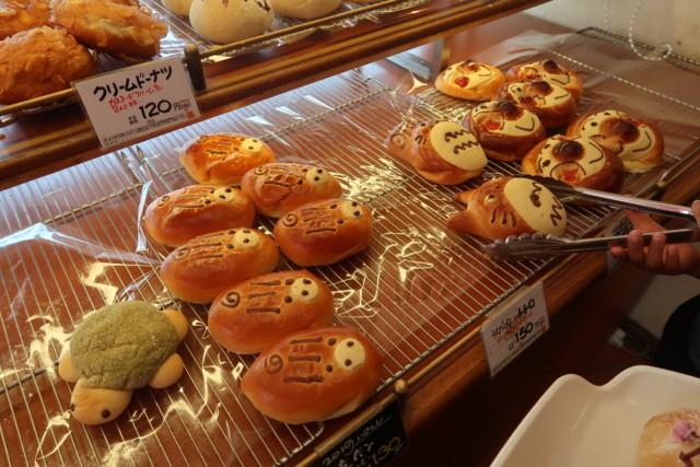 内田パンのキャラクターパン