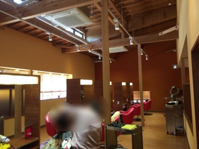 ジンルッカ(大洲)の店内の雰囲気