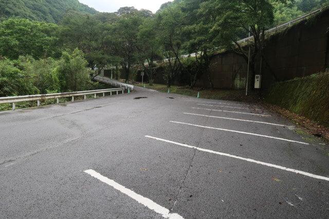 せせらぎ公園(松山市)の駐車場