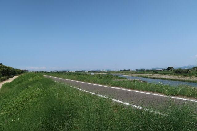 赤坂泉公園(砥部町)の道路
