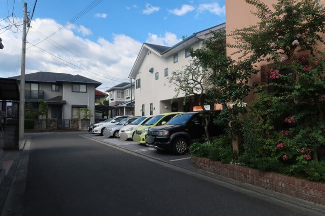 みかんカフェ(松山)の駐車場