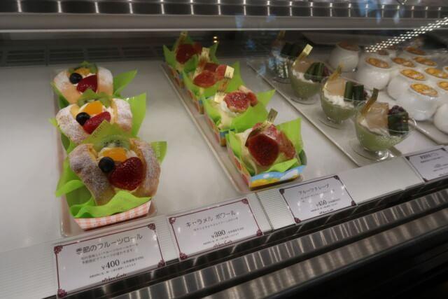 みかんカフェ(松山)のケーキ