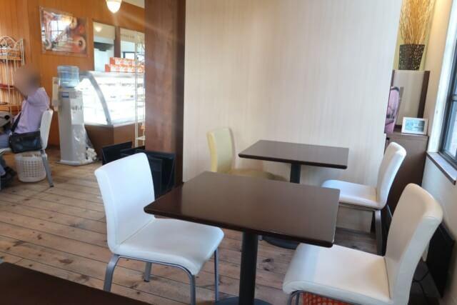 みかんカフェ(松山)のイートイン