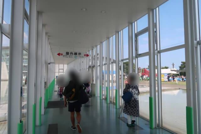 あすたむらんど徳島,プールの入り口