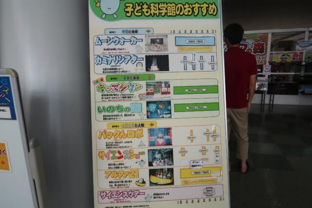 あすたむらんど徳島,科学展