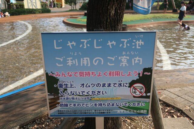 あすたむらんど徳島,じゃぶじゃぶ池のプール