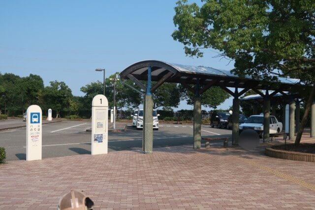 あすたむらんど徳島,バス停やタクシー乗り場