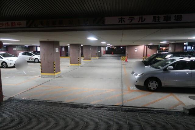 サンルート松山,ビアガーデン,駐車場
