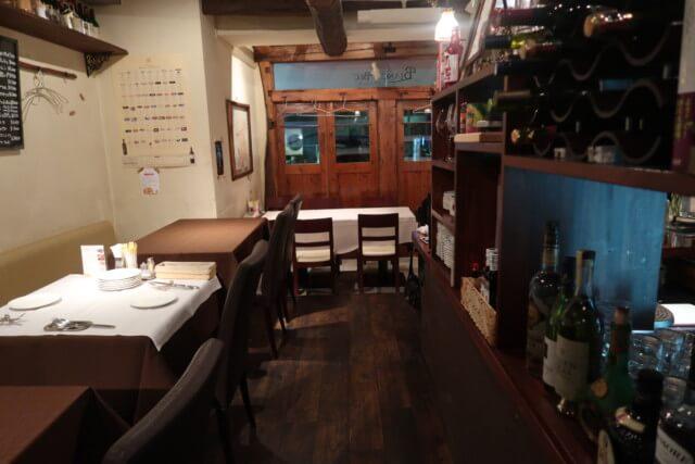 ブランベック,松山,店内の雰囲気
