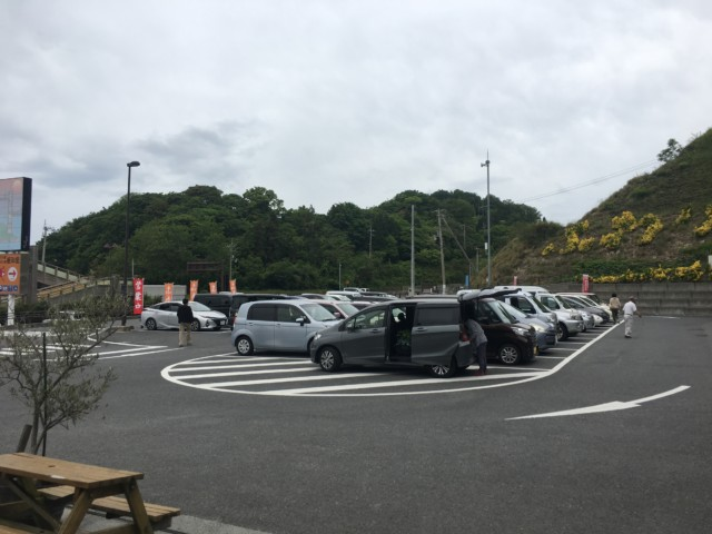 ふわり(風和里)の駐車場