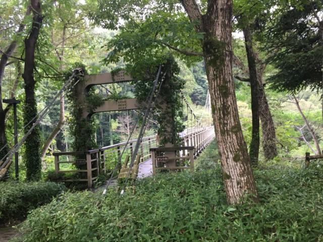 からり(内子)の吊り橋