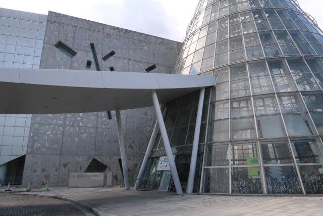 愛媛県総合科学博物館の入り口