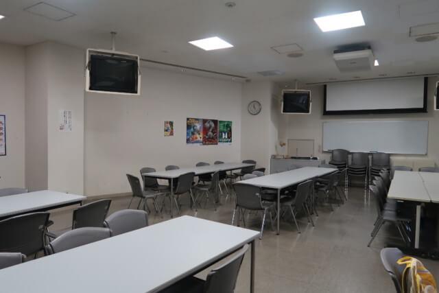 愛媛県総合科学博物館の飲食スペース
