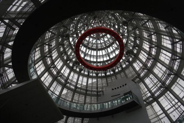 愛媛県総合科学博物館の館内の雰囲気