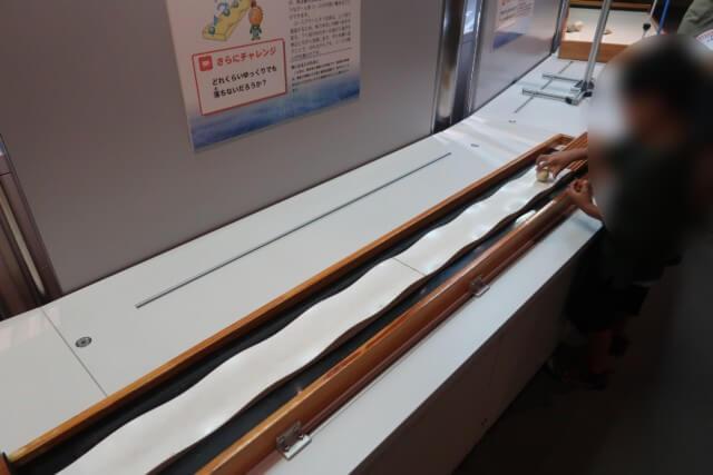 愛媛県総合科学博物館の常設展の雰囲気