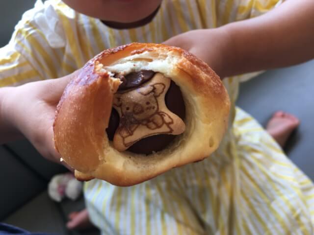 ブゥランジェリィ・アペのチョココロネ