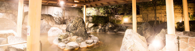 見奈良天然温泉利楽の温泉
