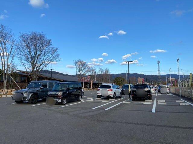 マテラの森の駐車場