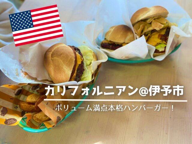 カリフォルニアンのハンバーガー,伊予市