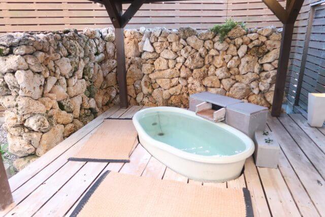 ひめひこ温泉,家族風呂,露天風呂