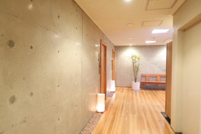 ひめひこ温泉,家族風呂,廊下