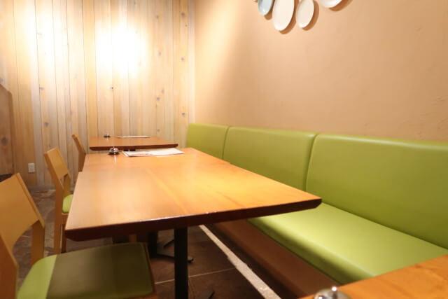 アマネク食堂,ソファー席