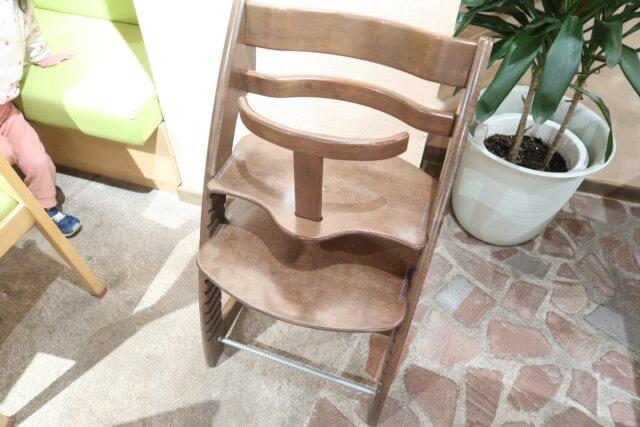 アマネク食堂,子供用椅子