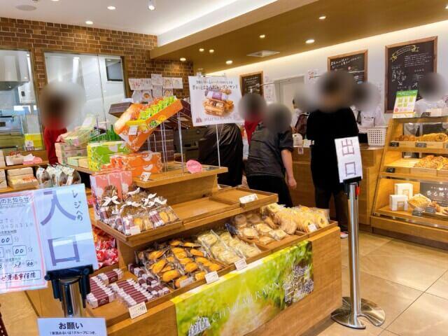 シャトレーゼ,愛媛県東温市,店内の雰囲気